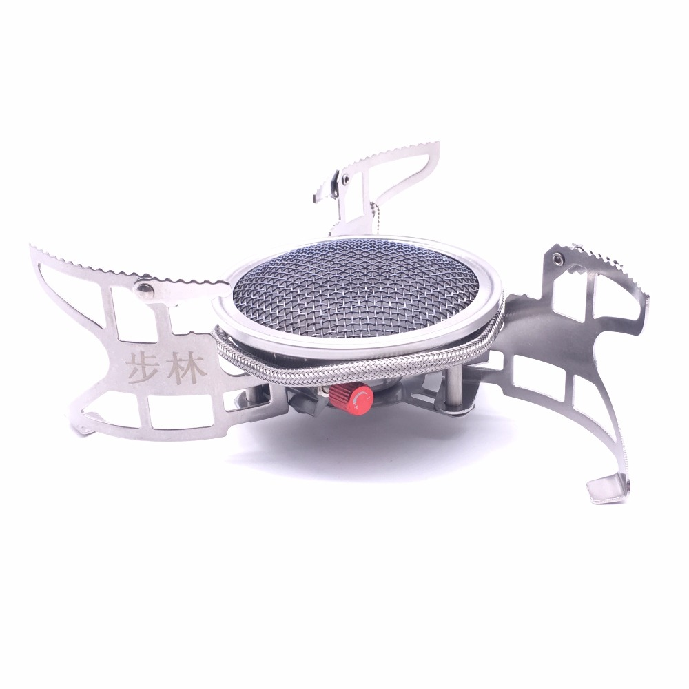 цена на BULIN BL100 - B15 Outdoor Gas Stove Foldable Cooking Camping Split Burner Ultralight Aluminum Alloy Gas-powered Stove for Hiking