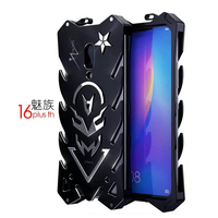 All Metal Case for Meizu 16 plus th Luxury Thor The 2 generation Tough Armor cover for meizu 16 metal Aluminum protective Case