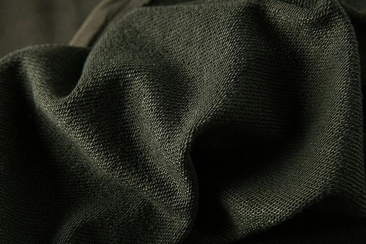 Cross Printed Hip Hop Sweatshirt Men 17Spring Streetwear Curved Hem Side Zipper Plain Mens Sweatshirts and Hoodies Man Clothes 37