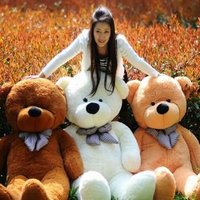 78 200cm Giant Size Finished Stuffed Teddy Bear Christmas Gift Hot Sale Big Size Teddy Bear Plush Toy Birthday Gift