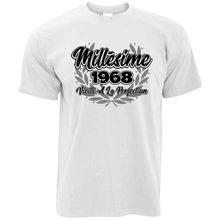 T-Shirt homme, en coton, à la mode, pour l'été, Joyeux Anniversaire, 2019, à la Perfection, 1968