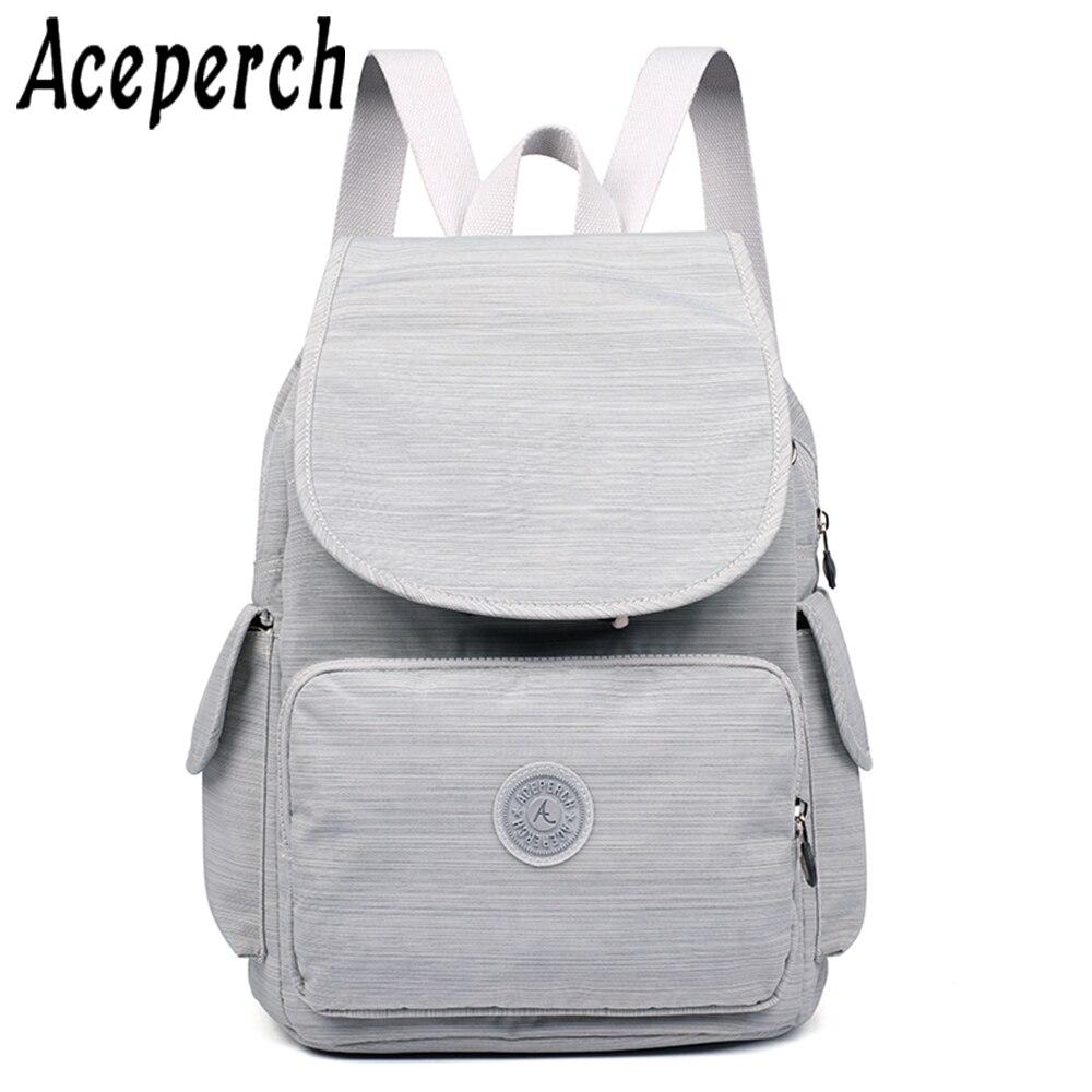 Womens Backpack School For Teenage Girl Mochila Feminina Kipled Nylon