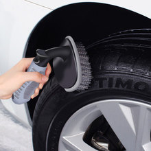 Multi-Functional Wheel Hub Brush cleaning cloth Vehicle Car  Washing Tools Rim Cleaning Free Shipping