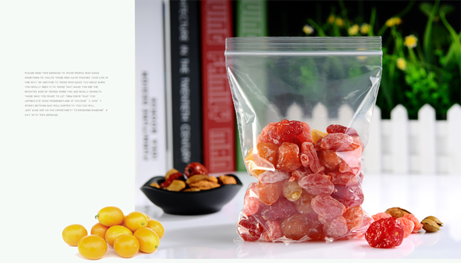 1 Transparent,Ziplock bag,Reseal,Zipper,Bulging ed edge,line,package,Store,Home,Office,food,magazine,Powder,granules.Dried fruit,tea,seasoning,whole grains,casual  (13)