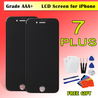 1PCS Grade A LCD For IPhone 7 7G 7 Plus LCD Touch Screen Digitizer Assembly Replacement