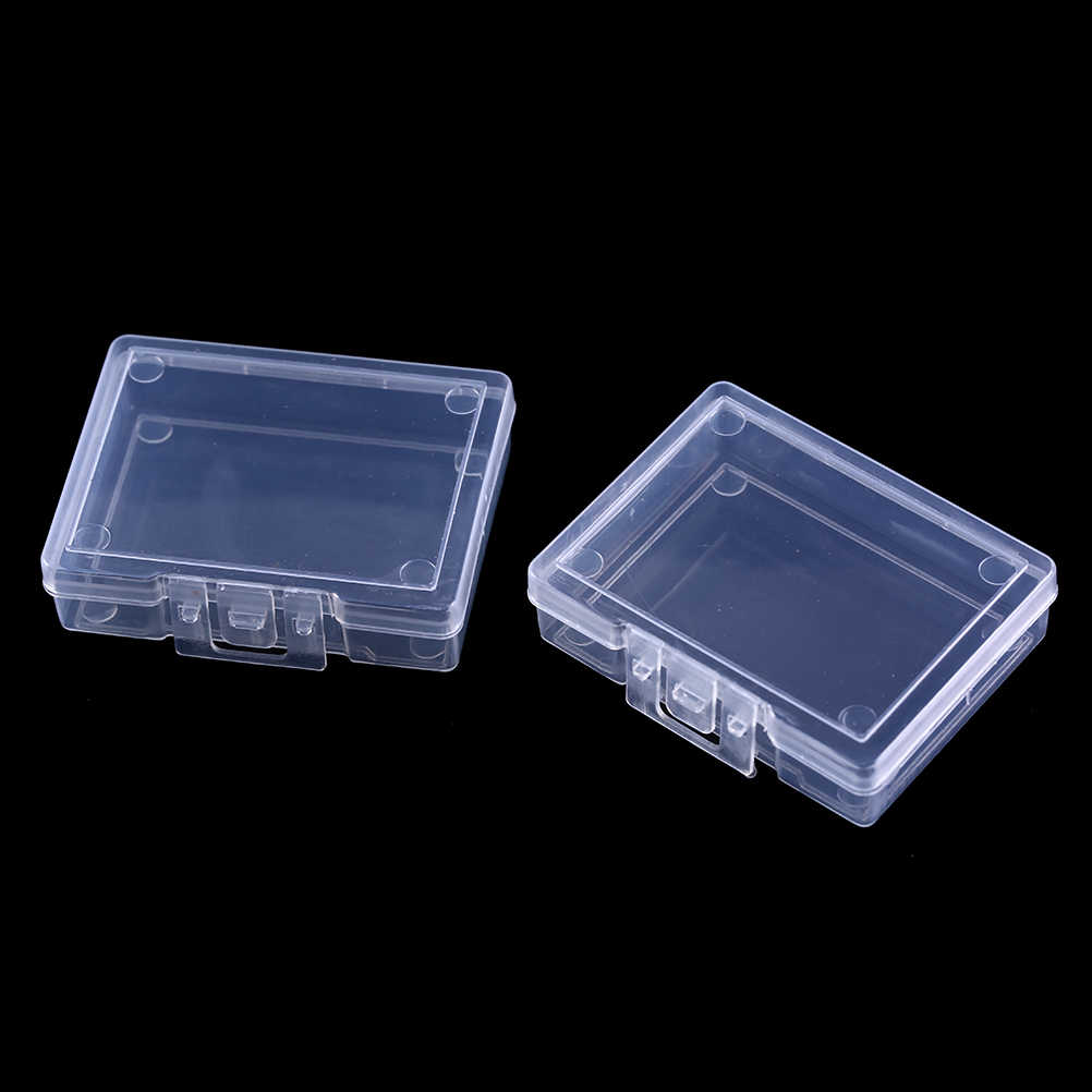 Transparent Fishing Bait Boxes Bait Fighting Accessories Hooks Fish Bait Fishing Bait Storage Tool Organizer Case Container