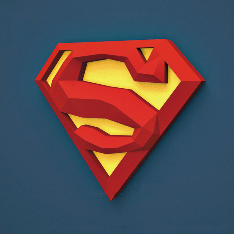 Best Offers Cartoon Superman Logo Brands And Get Free Shipping A864