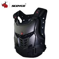 SCOYCO Motorcycle Armor Motorbike Chest Back Protection Gear Motocross Armor Racing Vest Motorcycle Protector Equipment
