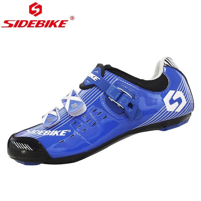 Sidebike calçado de ciclismo masculino, novo sapato esportivo antiderrapante e resistente para estrada e ciclismo ao ar livre sapatos com calçados 4