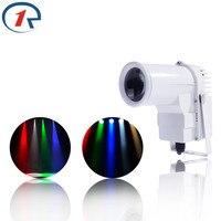 ZjRight 9W LED RGB Spots Stage decor Lights 3 Color Change Mini DJ party club Strobe effects EU Plug ceiling hang White Lighting
