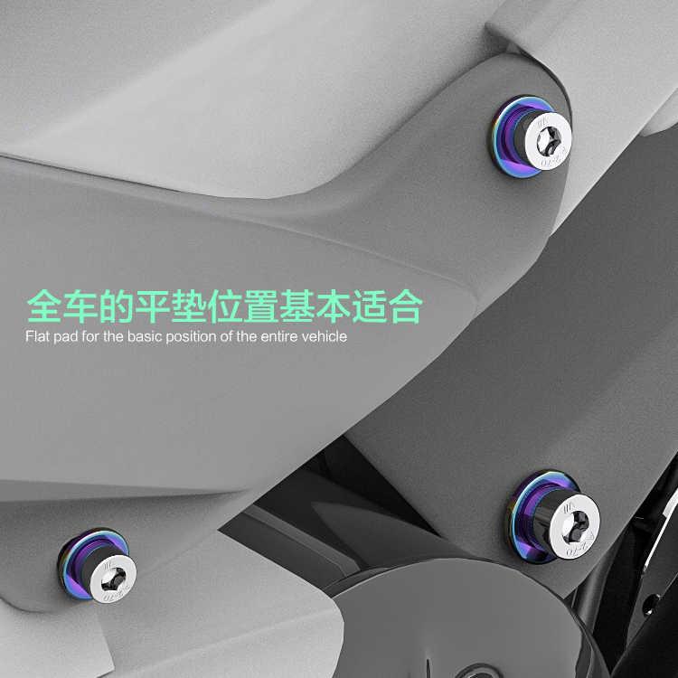 חית רוח אופנוע בורג אטם מכונת כביסה כרית עבור Ktm דוכס 390 הארלי Softail Kawasaki Z800 ימאהה R1 Bmw G310r דוקאטי מפלצת