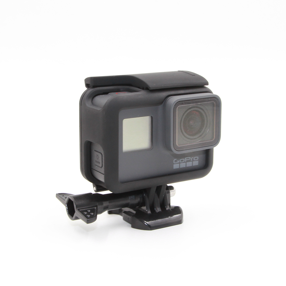 TELESIN Frame Mount Housing with Quick Release Buckle Tripod Mount and Thumbscrew for GoPro 5 Black