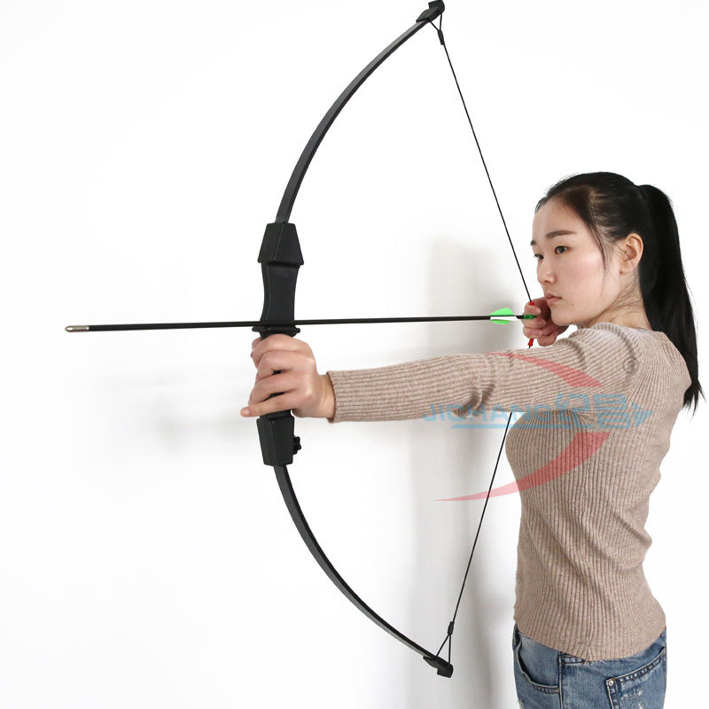 Bow And Arrow Toy Outdoor Parent-child Archery Shooting Toy Archery Equipment  Shooting  Bow & Arrow Set  Child And Lady Use