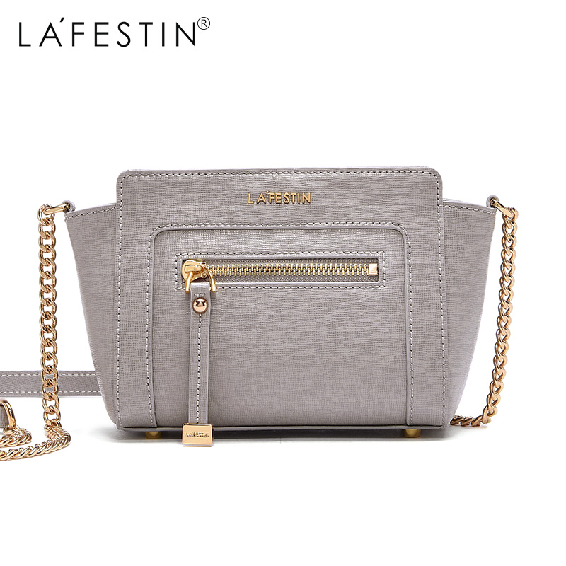 LAFESTIN Brand Shoulder Bag Leather Women Bag Designer Messenger Crossbody Bag Female Ladies Handbag Bolsos Mujer 2017 fashion new women leather handbags litchi ladies messenger bag crossbody bag brand designer tote bag bolsos mujer de pp 237