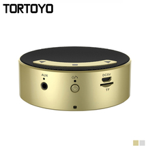 TORTOYO Q7 Mini Touch Bluetooth Speaker Portable Wireless Music Mp3 Player for Smart Phone TF Card Handsfree Calls Car Subwoofer