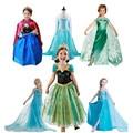 New Elsa Anna girls princess dress for Summer girls party dress girls clothing,children clothes fantasia infantis vestido Menina