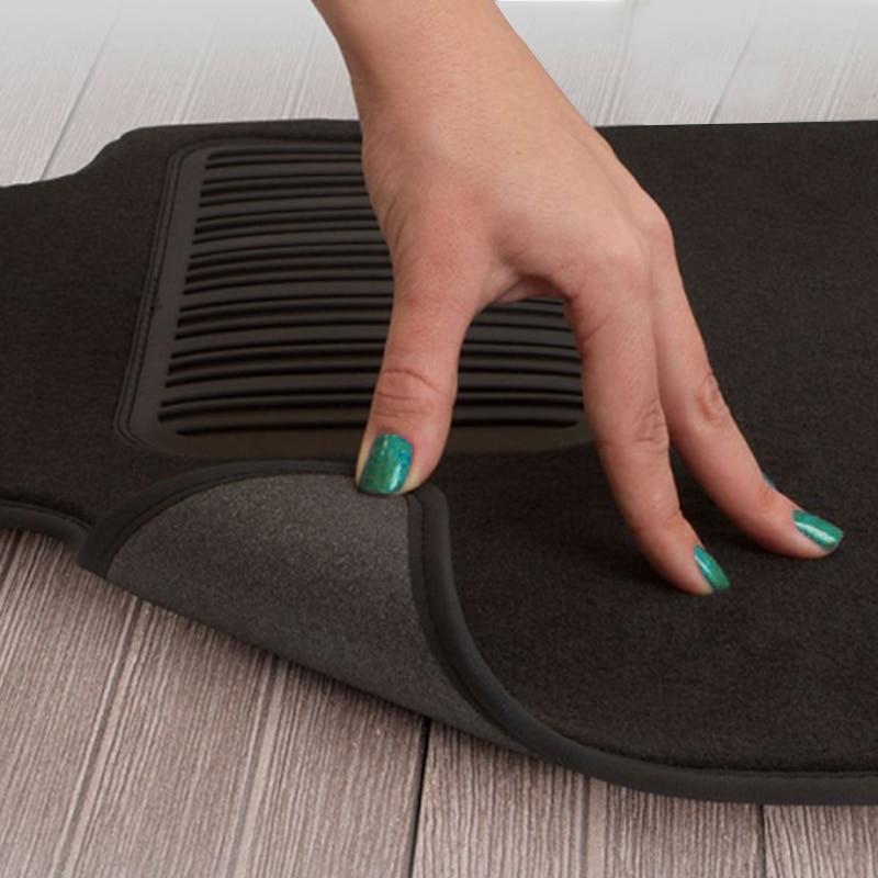 Mats in salon Klever Premium For HYUNDAI Elantra 2014-2016, сед... 5 PCs (textile, beige) mats in salon klever premium for nissan teana ii 2008 2014 сед 5 pcs textile
