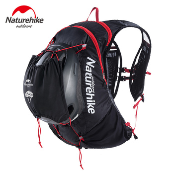 Naturehike 15L Outdoor Running Bag Bicycle Backpack Ultralight Waterproof Hiking Cycling Sports Bag Climbing Rucksack NH18Y002-B ultralight mountain bicycle bike backpack waterproof sports climbing bags outdoor travel rucksack cycling riding running bag