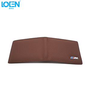 Image 5 - LOEN 1PC Leather Auto Driver License Bag Car Driving Documents Card Credit Holder Purse Wallet Case For bmw style