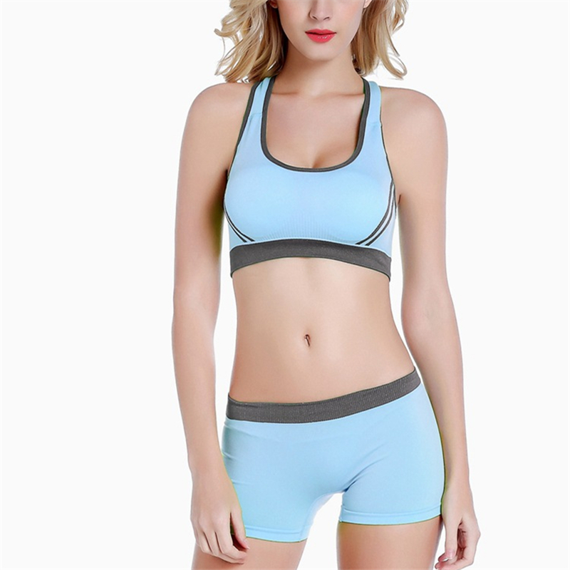 333530d795e07 Women Underwear Clothing Cotton Teen Sports Bra with Chest Pad Puberty Girl  Sports Yoga Bra Underclothes-in Sports Bras from Sports   Entertainment on  ...