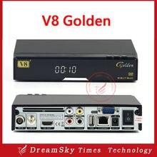 2016 recién llegado de dvb-s2 openbox v8 de oro + c + t2 powervu youtube iptv receptor de satélite