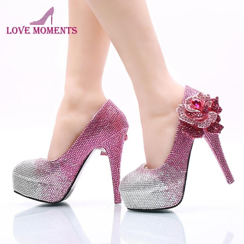 D'anniversaire La 11cm Forme Taille Chaussures Rose Fille Heels Plus n0OPNw8kX