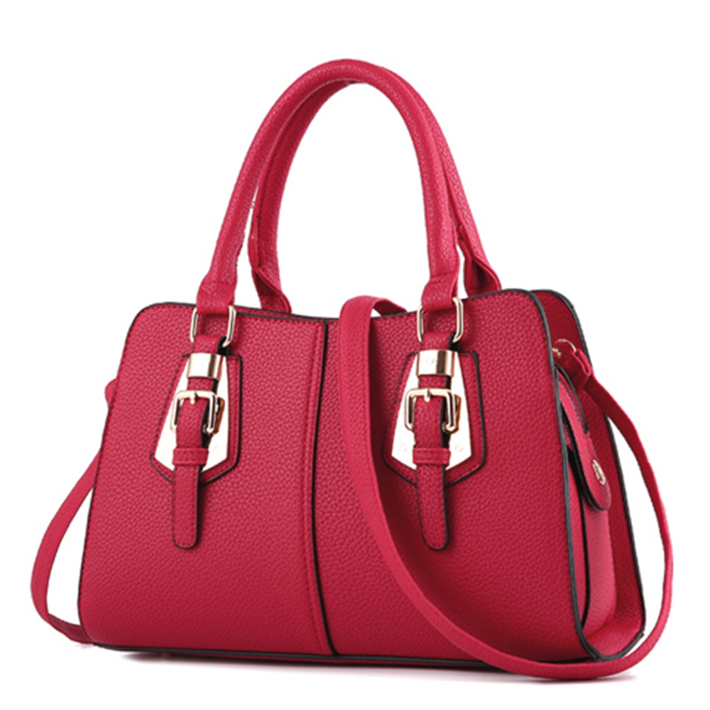 6f551dce085b Hot sale 2018 Fashion Designer Brand Women Leather Handbags ladies Shoulder bags  tote Bag female Retro Vintage Messenger Bag-in Shoulder Bags from Luggage  ...