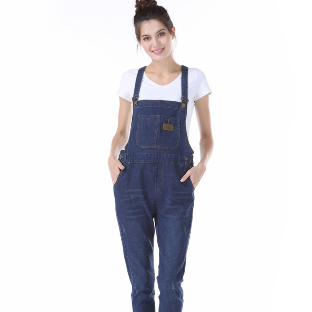 d57547655fdc0 5 Styles Denim Maternity Suspender Trousers Pants for Pregnant Women  Elastic Waist Pregnancy Clothes Office Mommy