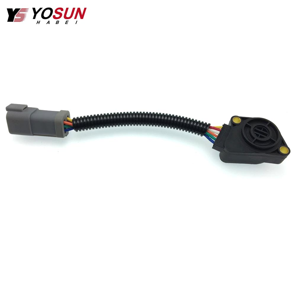 Accelerator Pedal Sensor Throttle Position Sensor 21915486 For Volvo FH12 FM12 FH16  6 Wine Grey Truck Sensor 20893518|Throttle Position Sensor| |  - title=