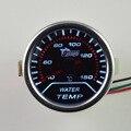 2 polegada de água auto termômetro medidor de temperatura da água medidor de Branco luminoso modificação do carro especial frete grátis