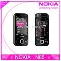 Reformado abierto original de nokia n85 3g red gsm wifi gps 5mp móvil envío gratis