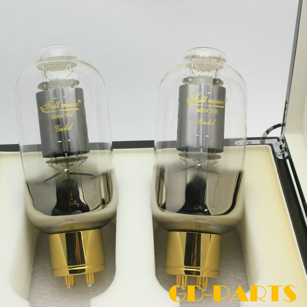Brand New Matched Pair Premium TJ Fullmusic 805/CNE 805CNE Vacuum Tube Carbon Plate Replace 805 Tubes For Amplifier DIY