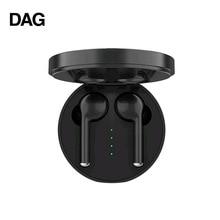 DAG TW40 TWS ワイヤレス Bluetooth 5.0 イヤホンスーパー低音 6D 3D ハイファイステレオヘッドセットハンズフリー通話スポーツデュアルイヤフォン内蔵 HD