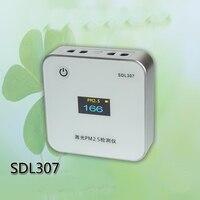 Sdl307 квадратный микро лазерные PM2.5 загрязнение воздуха Мониторы бытовой PM10 зарядка через USB модуль концентрации