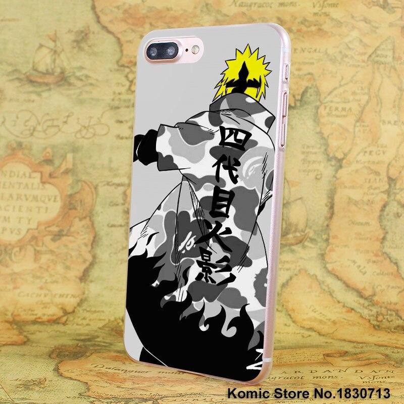 Naruto One Piece Phone Case iPhone 7 6 6s Plus SE 4s 5 5s 5c