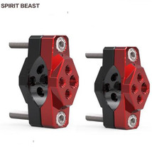 SPIRIT BEAST Motorcycle Stent Modification Accessories Auxiliary Spotlights Fixed Bracket Catches Bumper Fixture Handlebar Stent все цены