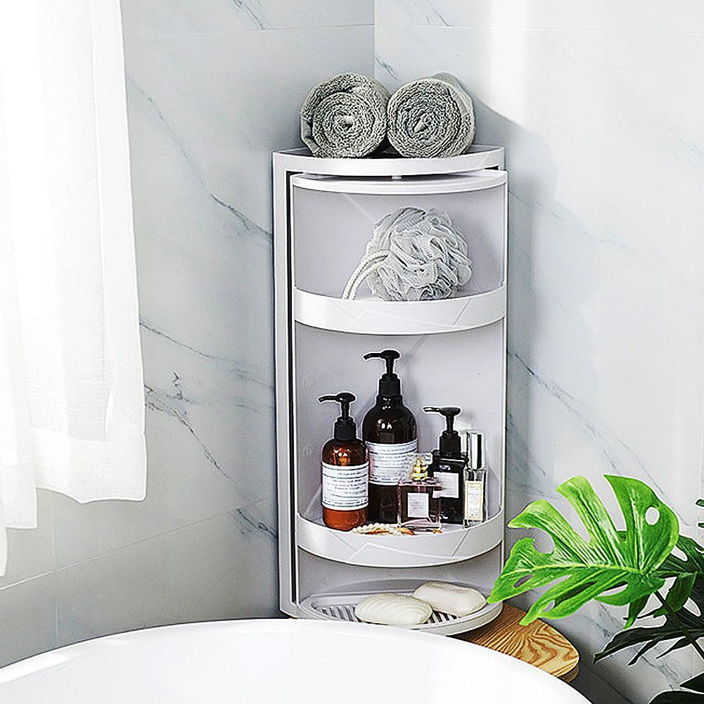 Salle de bain ventouse Durable coin douche shampooing savon cosmétique triangulaire étagère support panier stockage Rack étagères organisateur
