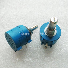 3590S-2-502L 3590S 5K ohm 5K Precision Multiturn Potentiometer 10 Ring Adjustable Resistor