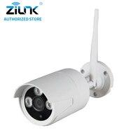 ZILNK 720P Wireless Bullet IP Camera 1 0MP Waterproof WiFi CCTV Night Vision TF Card Onvif