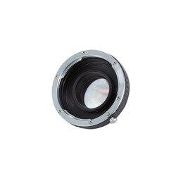 Meking Focal Reducer Speed Booster Adapter EF Objektiv Micro 4/3 M43 Kamera für Olympus Panasonic BMD BMCC MFT BMPCC Z Kamera E1