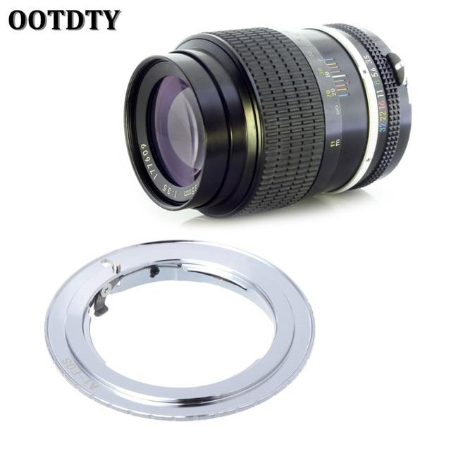 OOTDTY עבור AI EOS מתאם לניקון AI AI S F עדשה כדי Canon EF EOS מצלמה AF לאשר טבעת