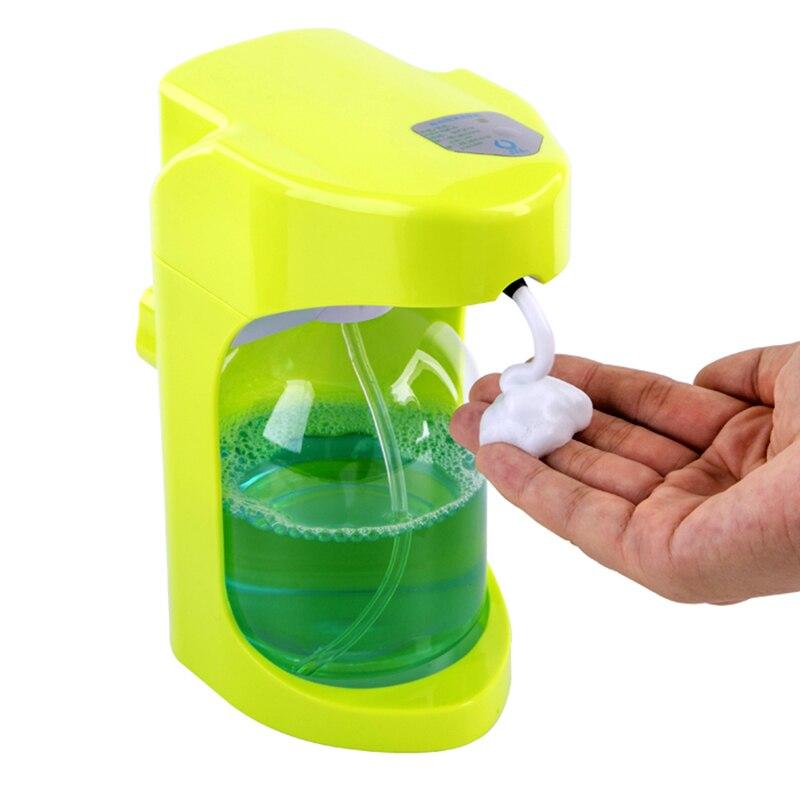500 ml Automatische Seifenspender Touchless Sanitizer Dispenser Eingebaute Infrarot-licht Smart Sensor für Küche Badezimmer seifenspender