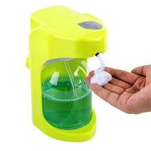 500ml dispensador de sabão automático touchless desinfetante dispenser sensor inteligente infravermelho embutido para cozinha banheiro dispensador de sabão