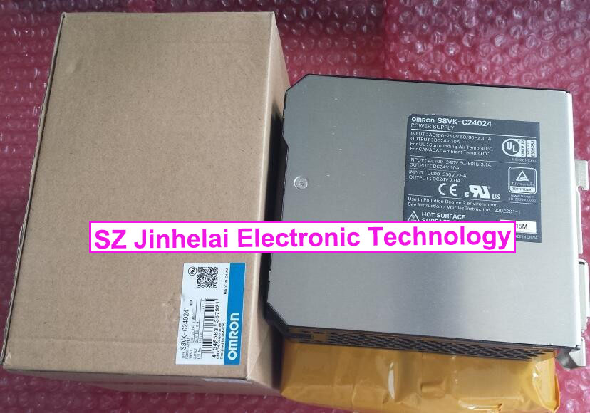 S8VK-C24024 Authentic original OMRON POWER SUPPLY MODULE 240W INPUT:100-240VAC OUTPUT:24VDC 10A s8vk c24024 omron power supply 240w input 100 240vac output 24vdc 10a