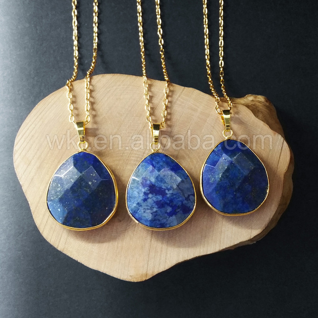 gemstone lazuli handmade pendant sterling at necklace lapis full silver