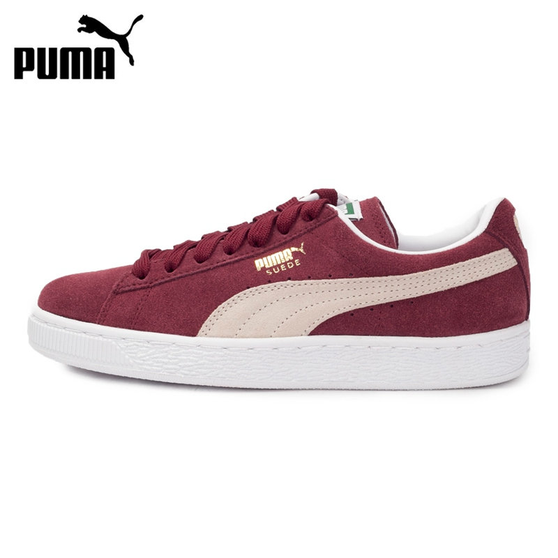 Original New Arrival 2019 PUMA Suede Classic+ Unisex's Skateboarding Shoes Sneakers