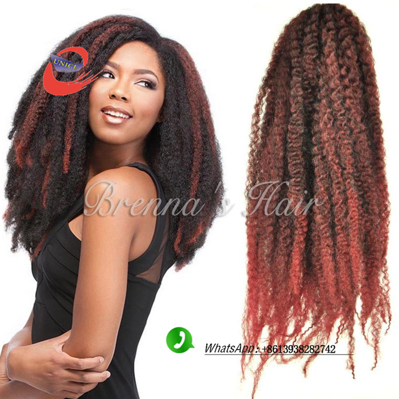 Awe Inspiring Good Quality Marley Kinky Hair Synthetic Afro Kinky Bulk Hair For Short Hairstyles Gunalazisus
