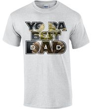 YODA BEST DAD, T-shirts, Star Wars , Daddy. Print Tee Men Short Sleeve Clothing free shipping