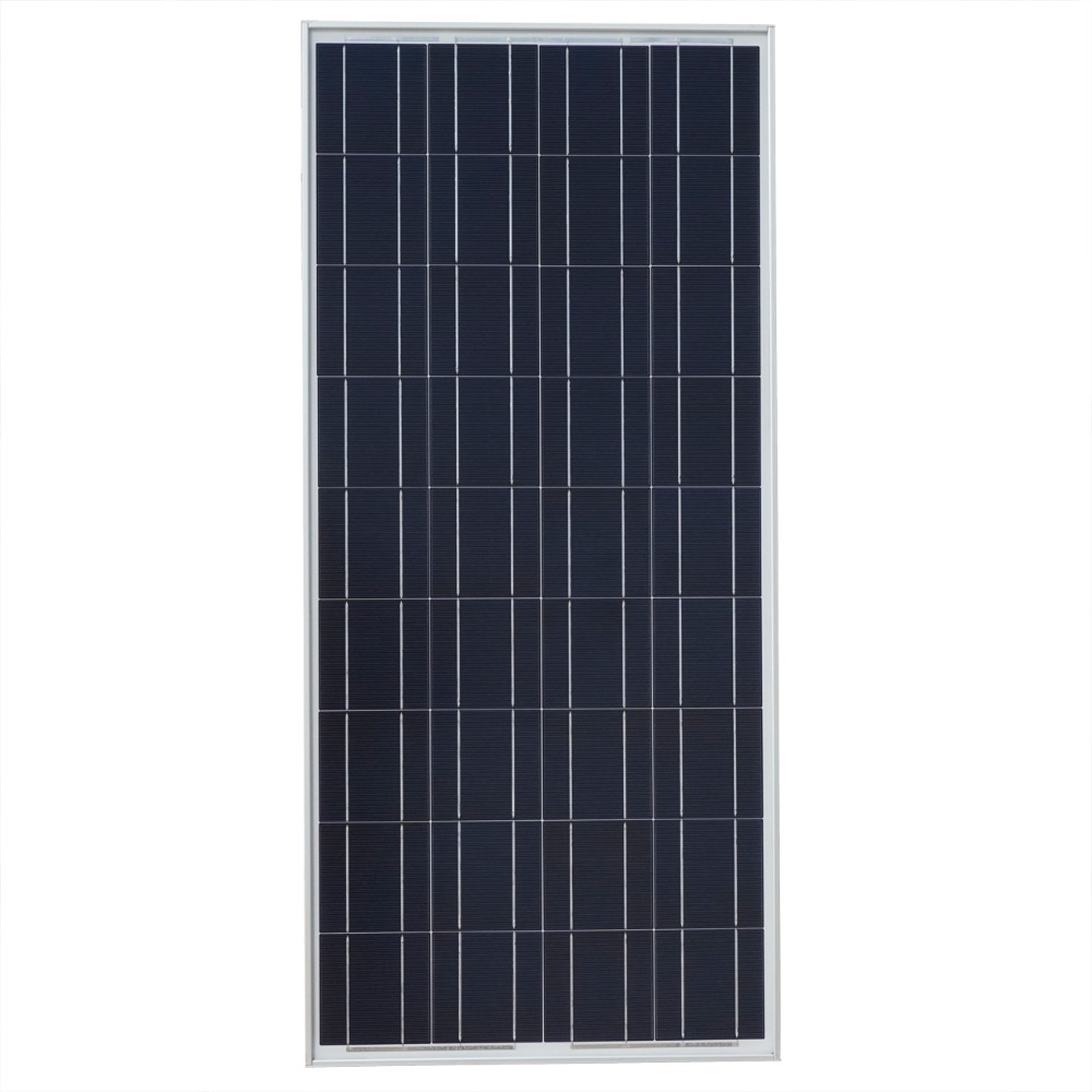 New 2 PCS 100W Solar Panel 12V Polycrystalline Solar Panel Charge for 12V Battery Solar Generators