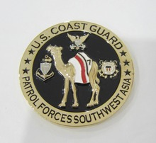 Custom 3D Metal Coin Souvenir Military Awards Carving Challenge Coins